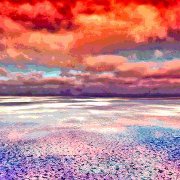Horizon Beach Ocean Landscape