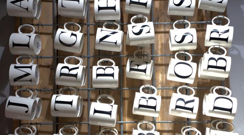Cup Letter Wall Gift Coffee  - webandi / Pixabay