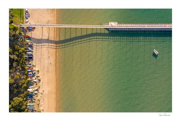Beached - Aerial Artwork