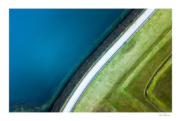 Duo Abstract - Aerial Artwork