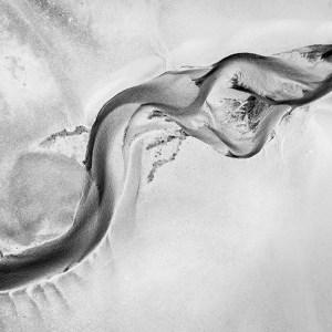 Riverbed - Aerial Artwork