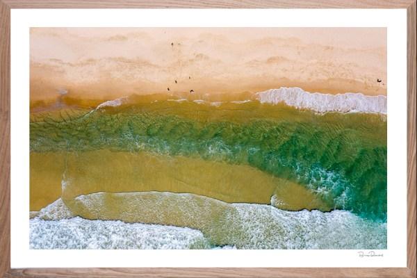 Sand Bar - Aerial Artwork