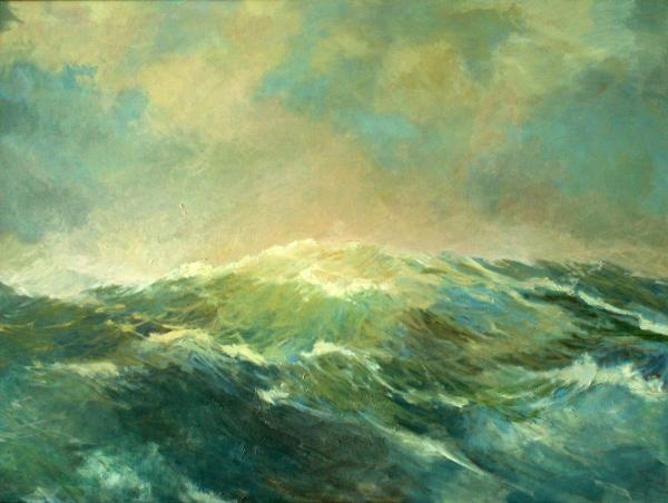 Storms at Sea I Painting - Storms at Sea I Fine Art Print
