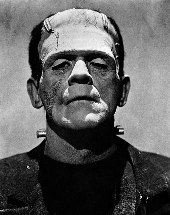 Old School Frankenstein
