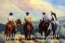 Image result for cowboy painting