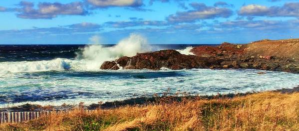 Tempestuous Art Print featuring the photograph Tempestuous Bonavista by Tatiana Travelways