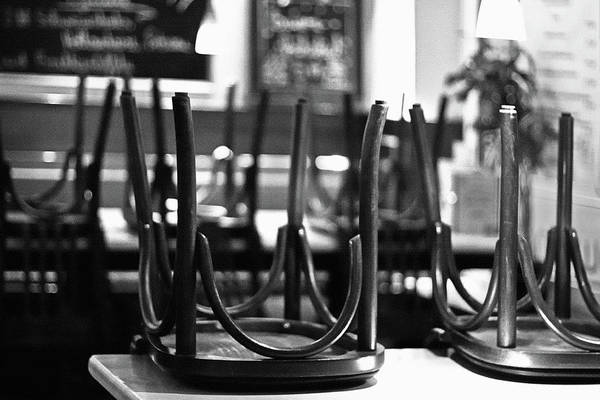 Chairs Art Print featuring the photograph Closing Time by Tatiana Travelways