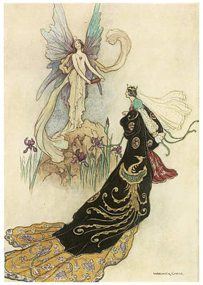 The Fairy Book Painting By Warwick Goble