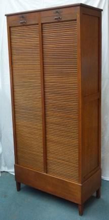 French oak filing cabinet 6
