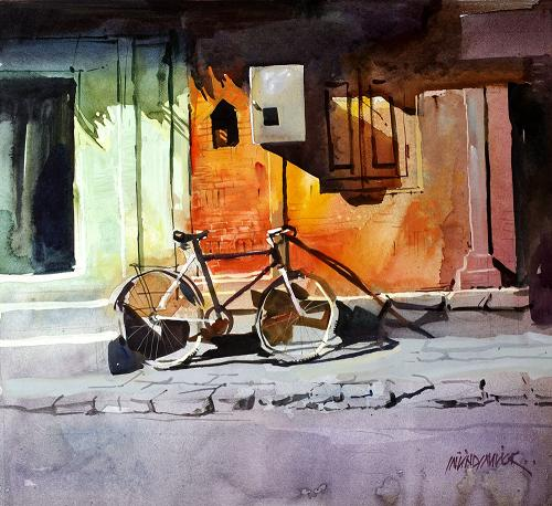 Milind Mulick Watercolor Paintings