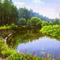 Russian Landscape Paintings By Dmitry Levin