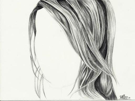 Strange Amazing Pencil Drawings Of Hair Fine Art Blogger Hairstyles For Men Maxibearus