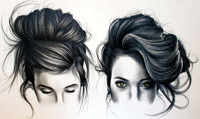Amazing Pencil Drawings of Hair - Fine Art Blogger