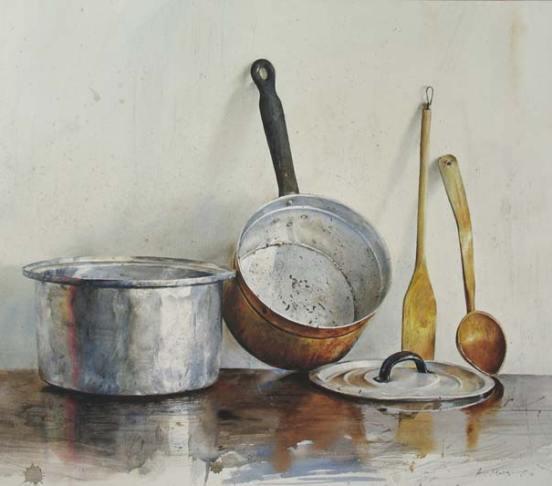 utensils-painting