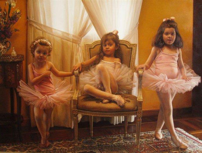ballet-kids-painting-antonio-guzman