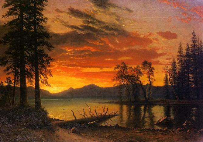 famous sunset paintings
