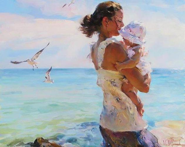 mom-baby-paintings