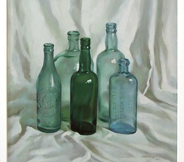 oil-paintings-of-glass-bottles