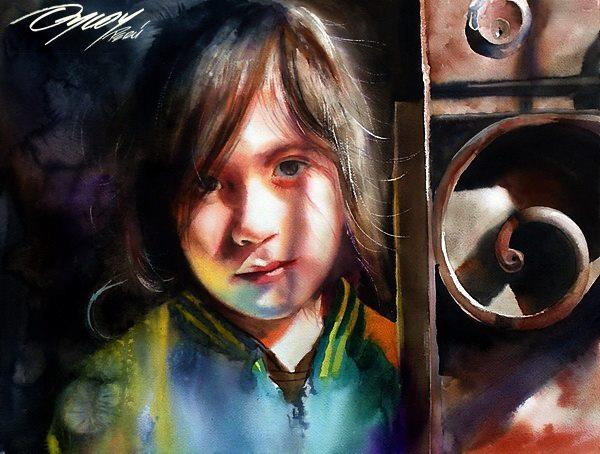 Best Watercolor Portraits By Famous Artists