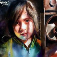 Best Watercolor Portraits By Famous Artists