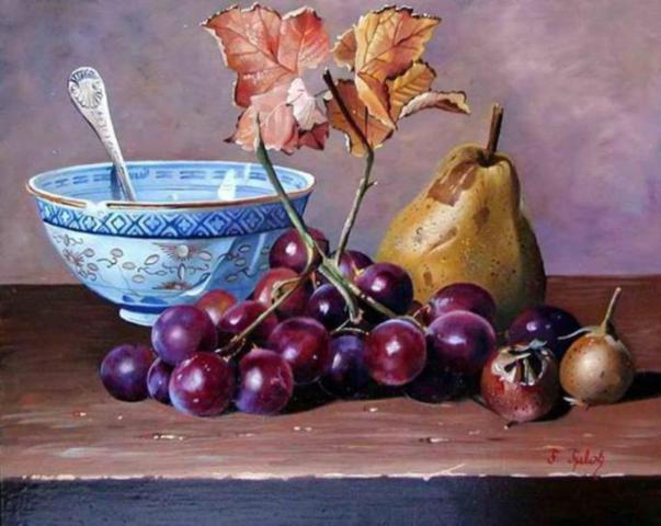 grapes-oil-paintings