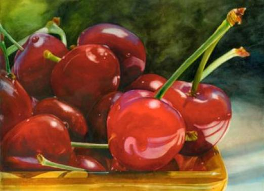 watercolor-painting-fruits