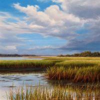 Henry Von Genk III Realistic Landscape Paintings