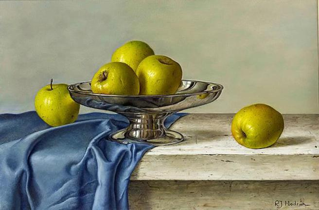 oil-paintings-of-apples