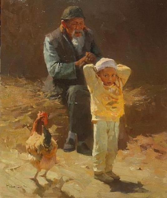 paintings-hen