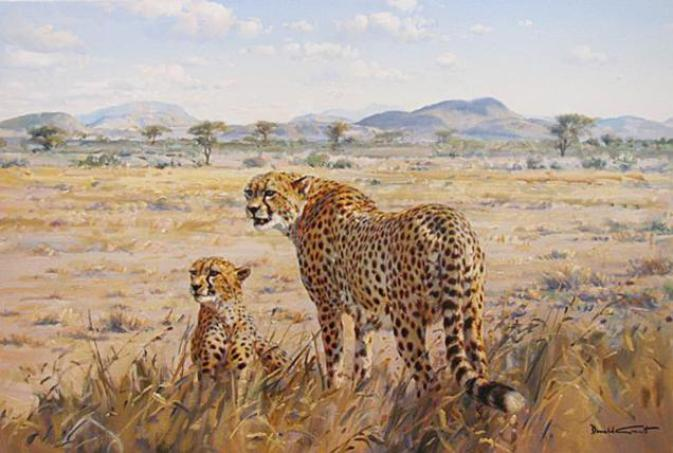 painting-cheetah