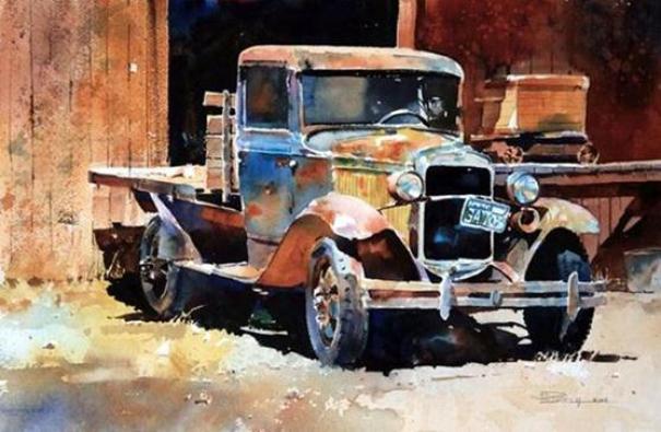 paintings-truck