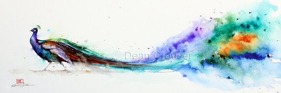 painting-peacock