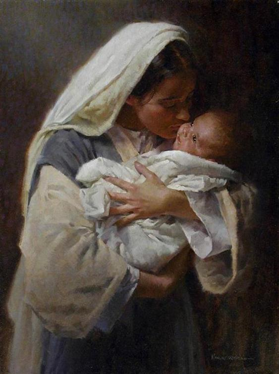 painting-mother-baby