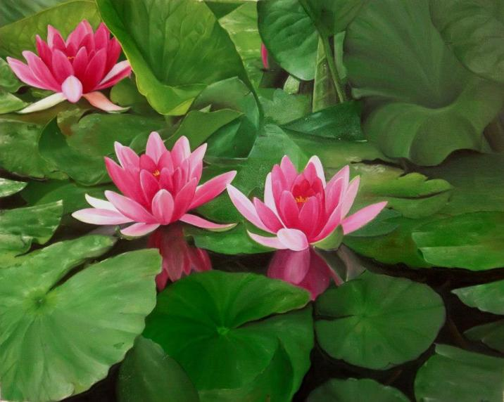 painting-lotus-canvas