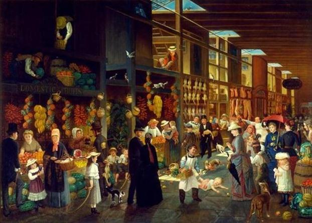 painting-street-seller
