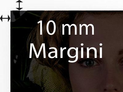 Margini di 10mm