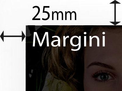 Margini di 25mm