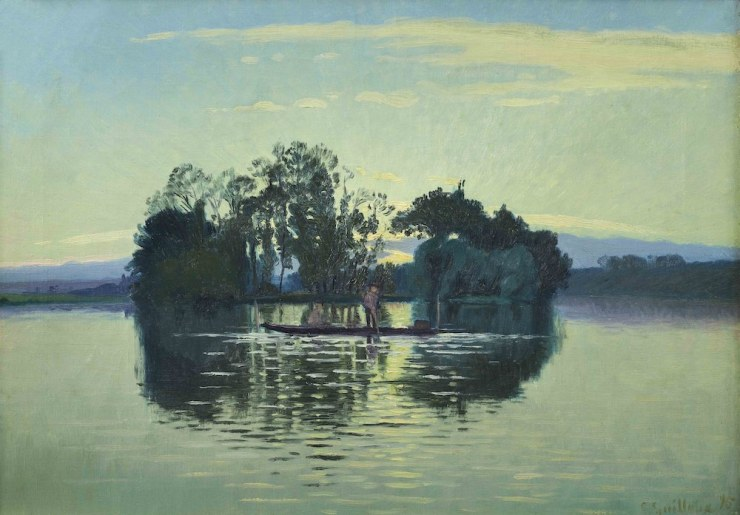 DIDIER AARON, Charles GUILLOUX, Dusk on the Ile d'Herblay