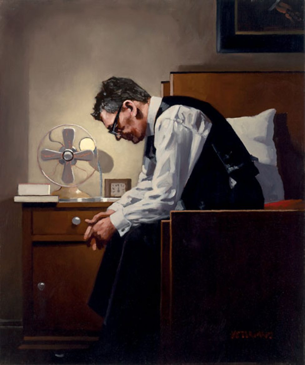 Stunning Noir Paintings by Jack Vettriano