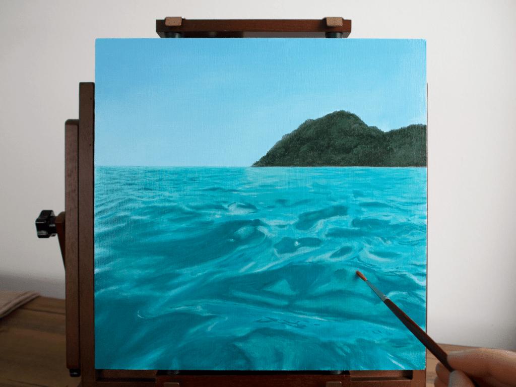 Glazing Technique Oil Painting