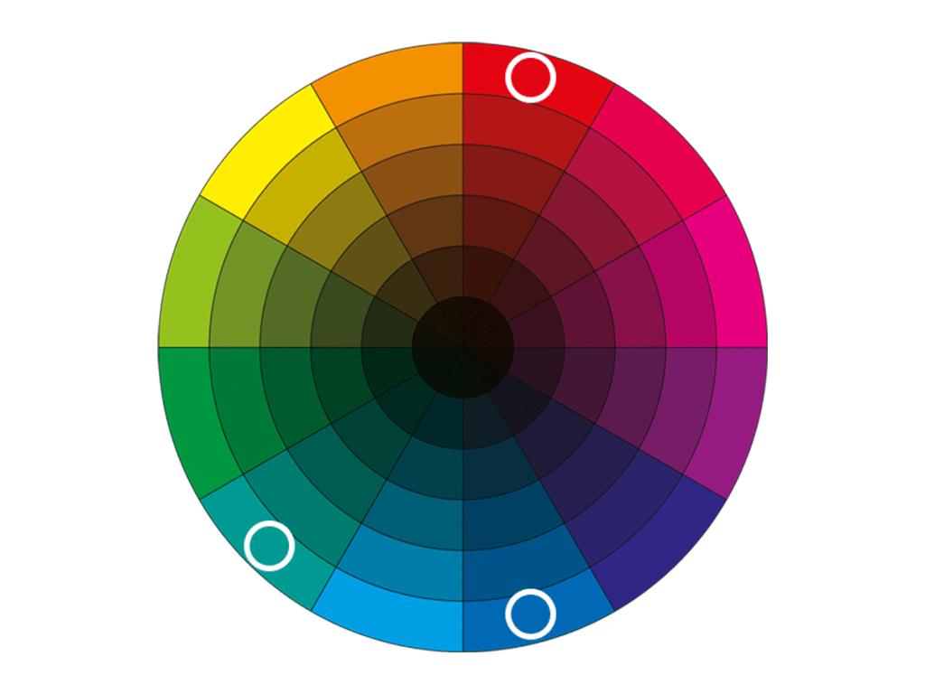 split complementary colour schemes