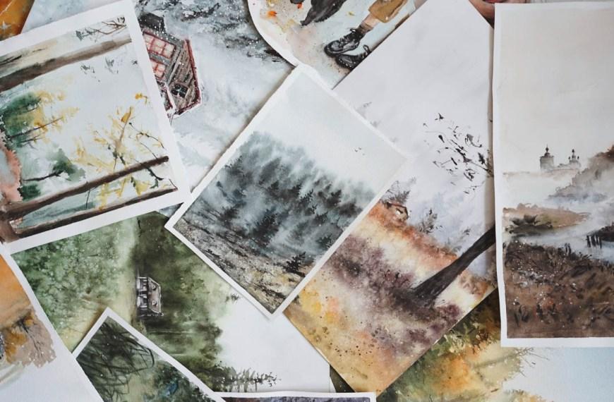 A Comprehensive List of Watercolour Techniques