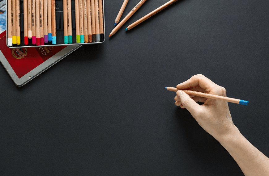 How to Draw with Coloured Pencils
