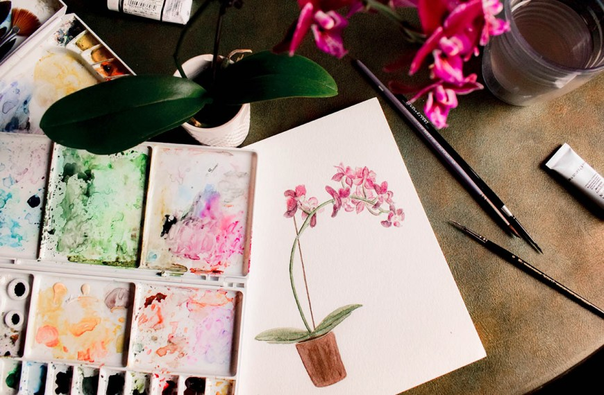 Easy Watercolour Painting Ideas: for Beginners