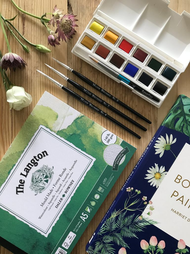 easy watercolour painting kit