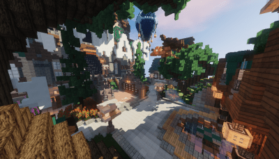 Spawn Skywars
