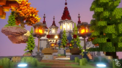 AUTUMN WORLD – SKYBLOCK SPAWN