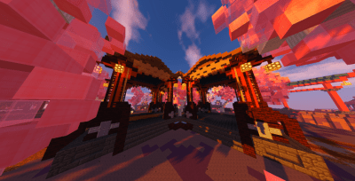 Skywars Map – Japanese Theme 220×220