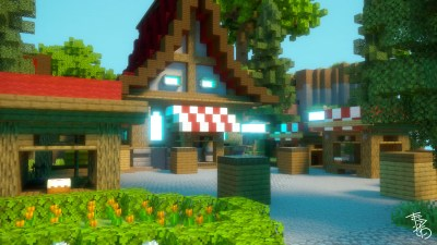 SKY VILLAGE – SKYBLOCK SPAWN