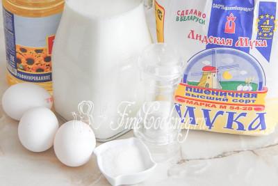 рецепт блинов на 1 литр молоке классический